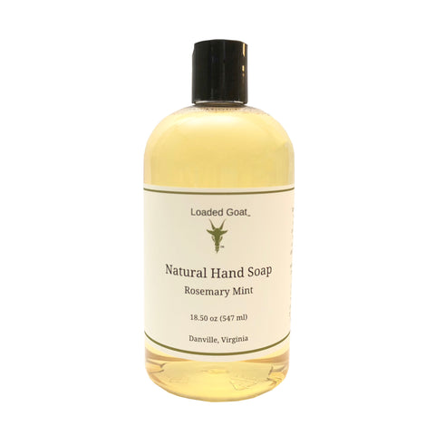 Hand Soap - Rosemary Mint - 18 oz