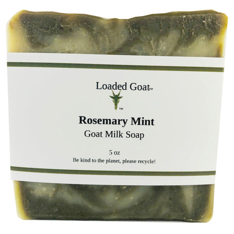 Goat Milk Soap - Rosemary Mint