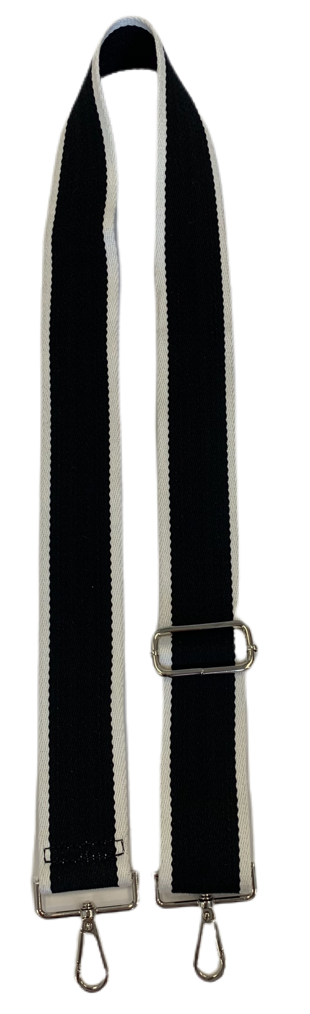 Black & White Striped Strap