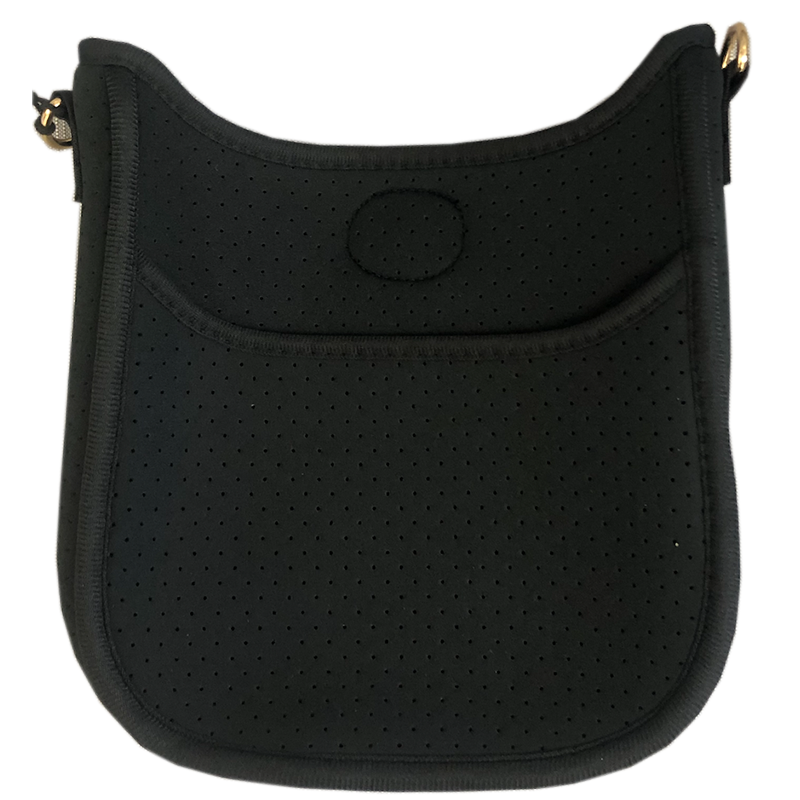 Black Mini Neoprene Messenger