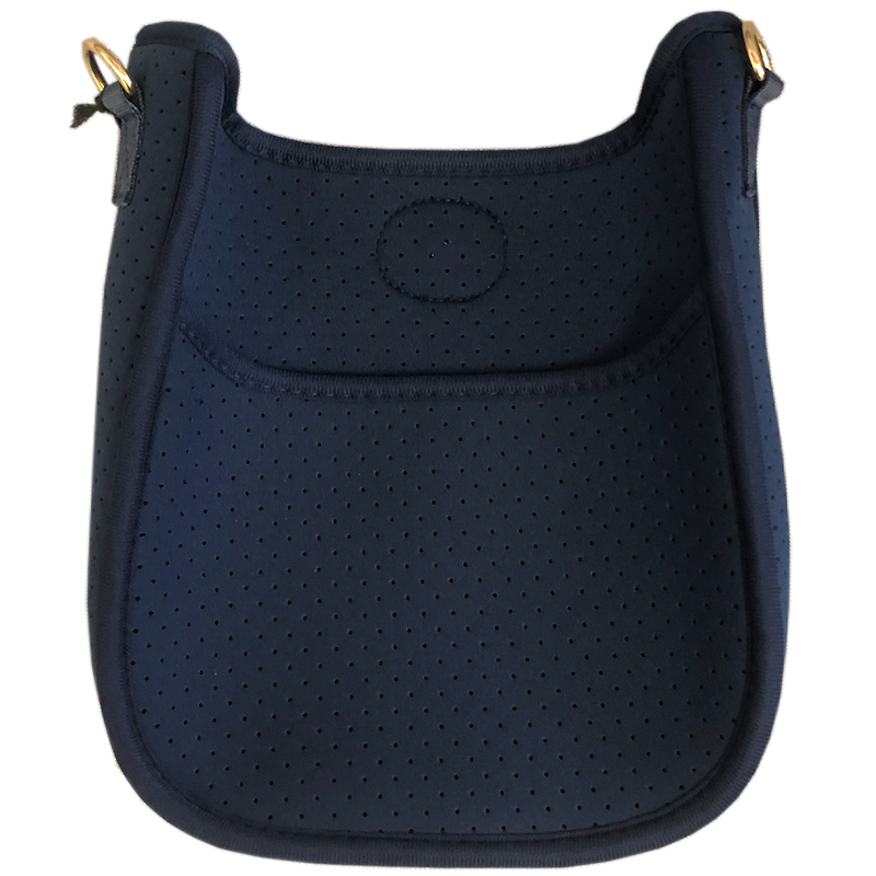 Navy Mini Neoprene Messenger