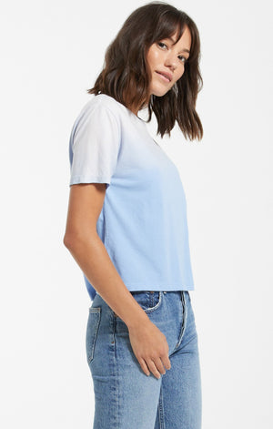 Ombre Tee in Blue