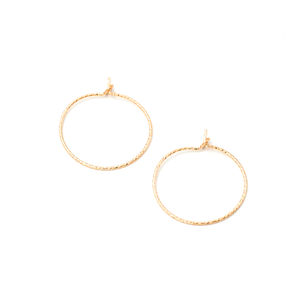 XS Sparkle Hoops