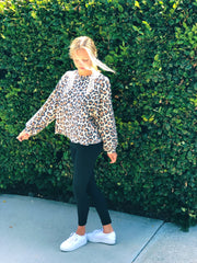 Leopard Lover Sweater Top