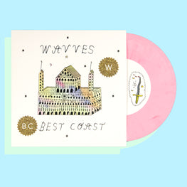 "WAVVES x BEST COAST 7"" SPLIT"