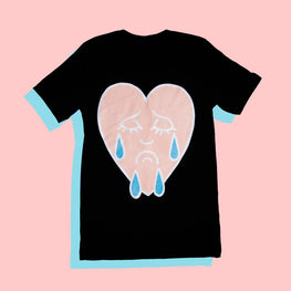 CRYING HEART TEE