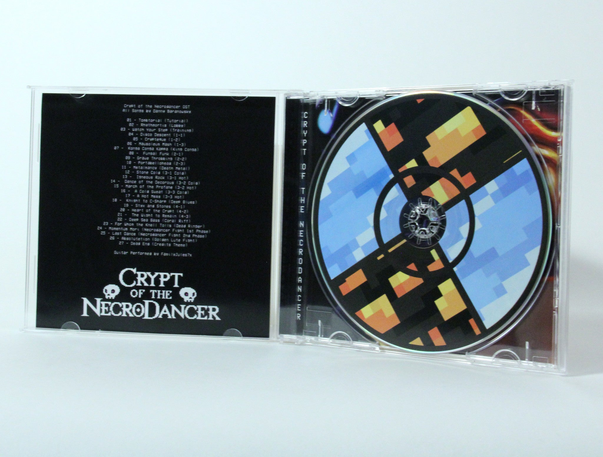 CRYPT OF THE NECRODANCER OST (CD)