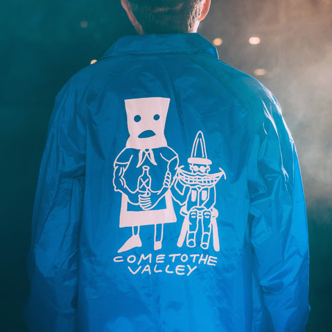WAVVES Blue Coaches Jacket