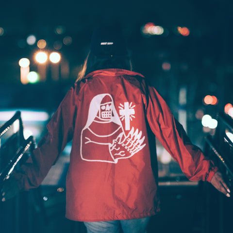 RED COACHES JACKET