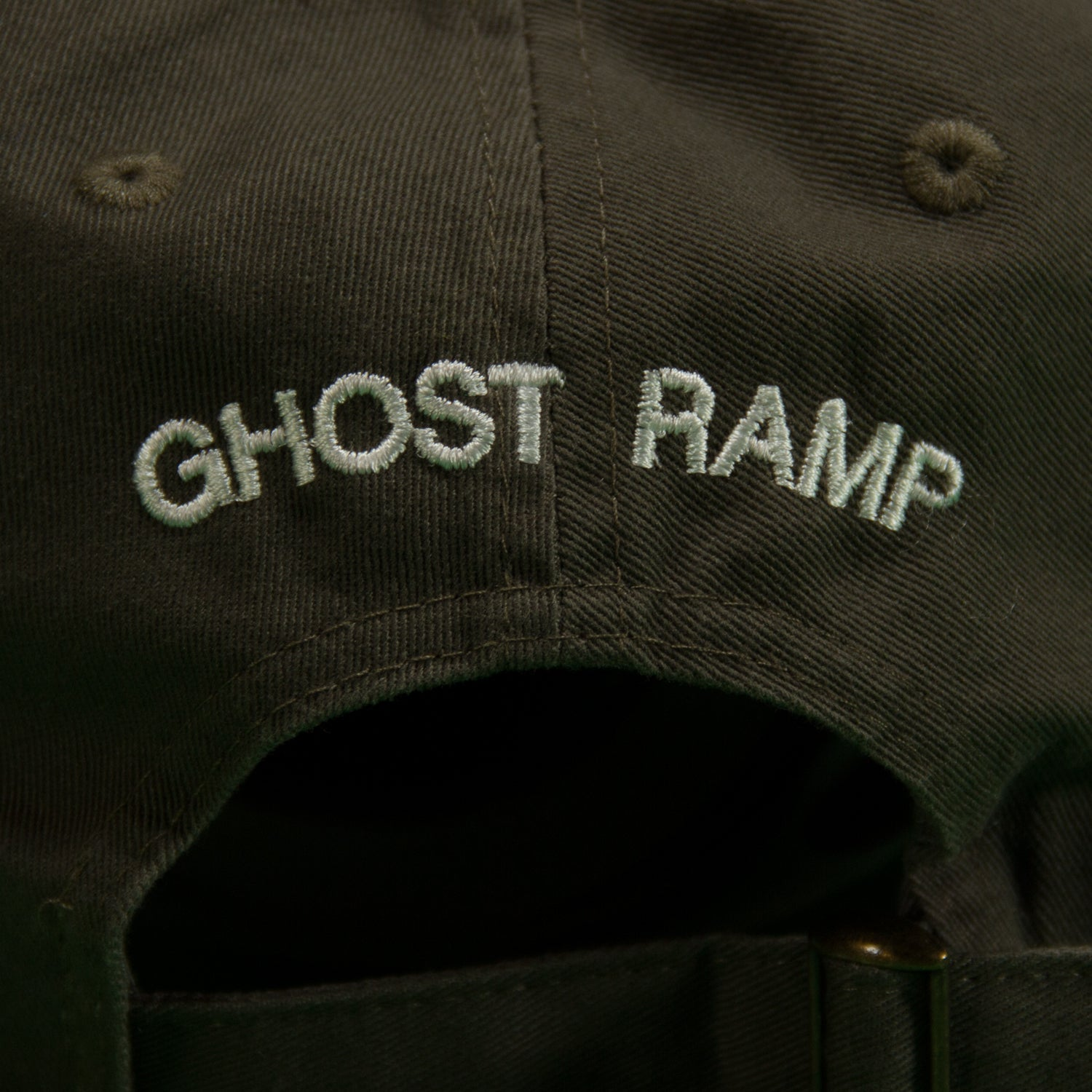 GHOST RAMP DAGGER HAT / OLIVE