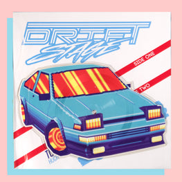 DRIFT STAGE 'APPLIED DYNAMICS' CAR-SHAPED 7""