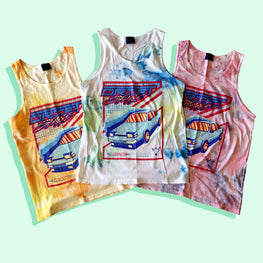 DRIFTSTAGE TIE DYE TANK TOP (ALL SIZES)