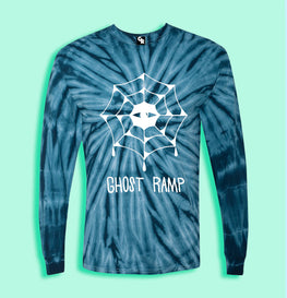 EYE WEB TIE DYE LONG SLEEVE