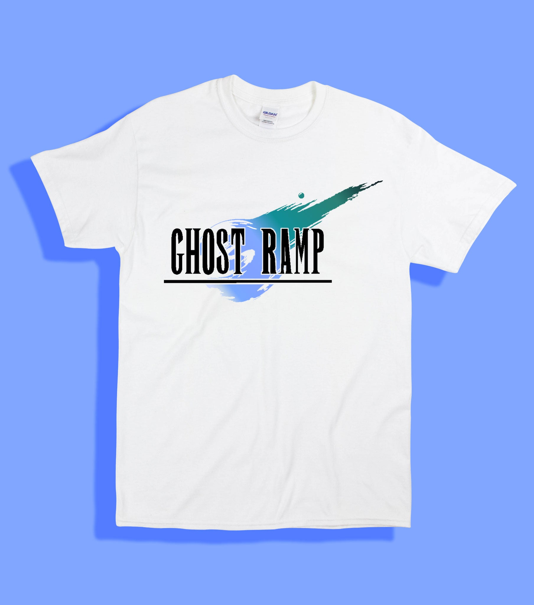 GHOST RAMP VIDEO GAME TEE #2