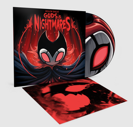 [PRE-ORDER] HOLLOW KNIGHT: GODS & NIGHTMARES (DELUXE LP & ENAMEL PIN)