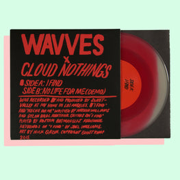 WAVVES x CLOUD NOTHINGS - I FIND 7""