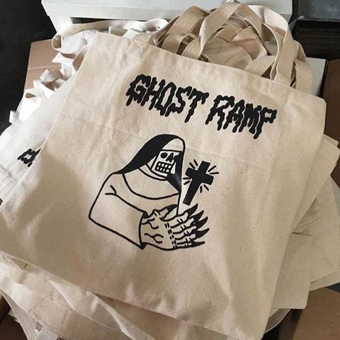 Ghost Ramp Tote Bag