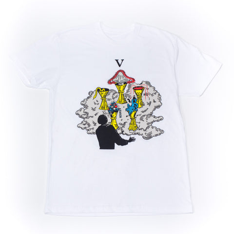 Wavves 'V' Magic Cups Tee