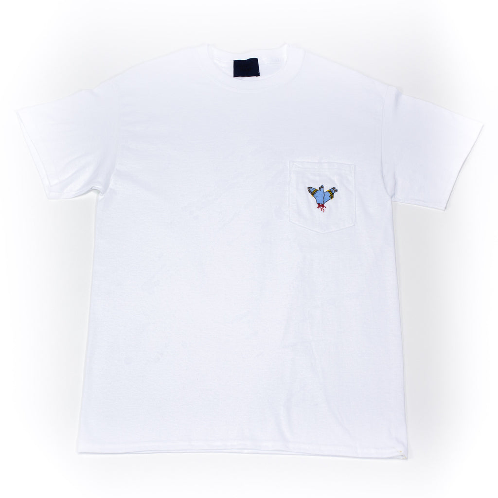 Ghost Ramp Embroidered Logo Pocket Tee