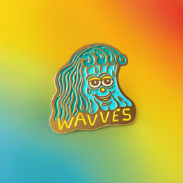 WAVVES x KILLER ACID ENAMEL PIN