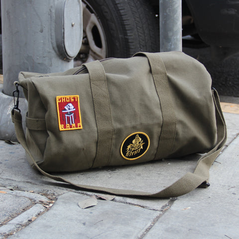 GR Military Duffle Bag - GREEN