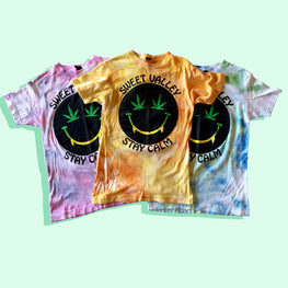 SWEET VALLEY TIE DYE TEE (SIZE XS & S)