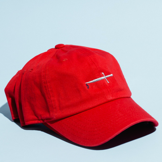 GHOST RAMP DAGGER HAT / RED