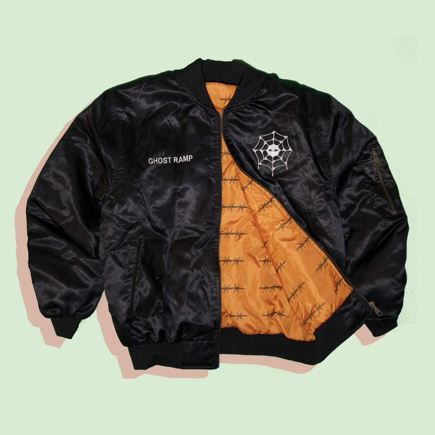 GHOST RAMP BOMBER JACKET