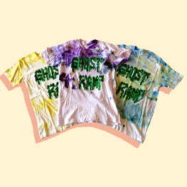 GHOST RAMP SPOOKY TIE DYE TEE (ALL SIZES)