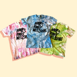 WAVVES TIE DYE TEE (ALL SIZES)
