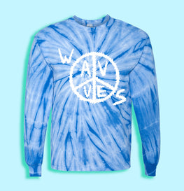 WAVVES TIE DYE LONG SLEEVE