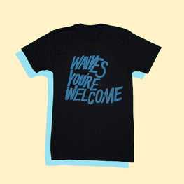 'YOU'RE WELCOME' BLACK TEE