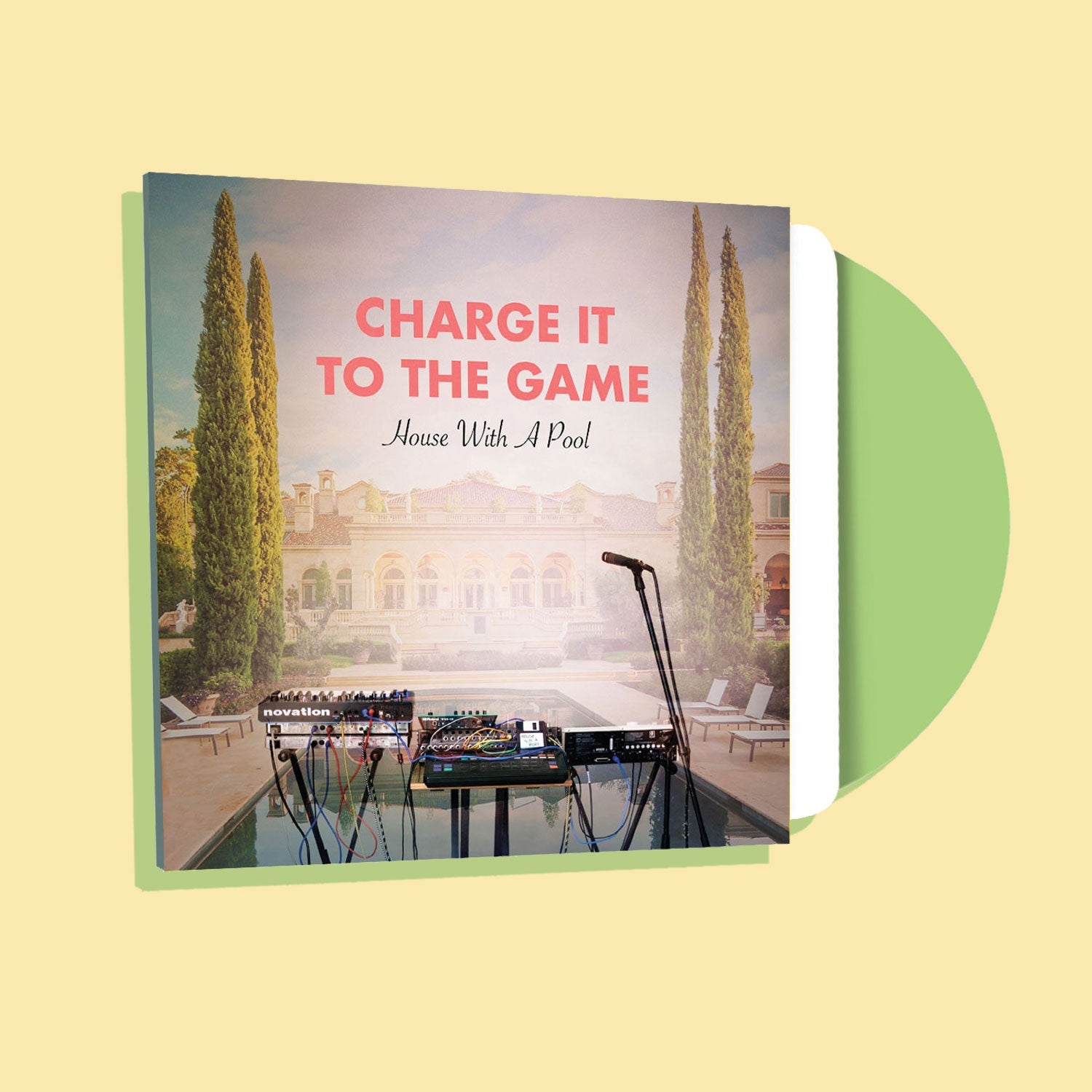 CHARGE IT TO THE GAME - HOUSE WITH A POOL (LP)