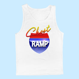 GHOST RAMP VIDEO GAME TANK TOP