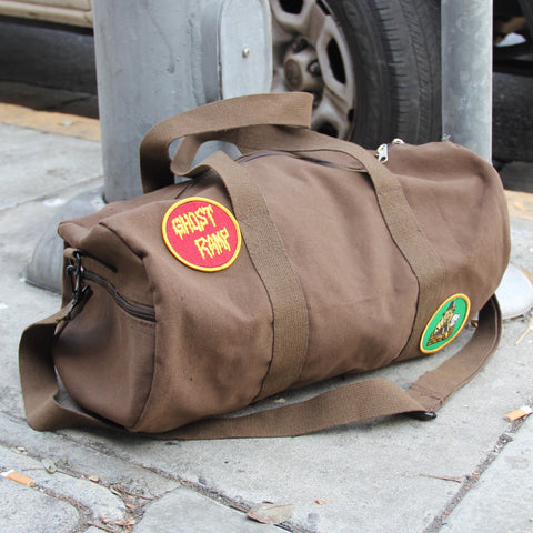 GR Military Duffle Bag - BROWN