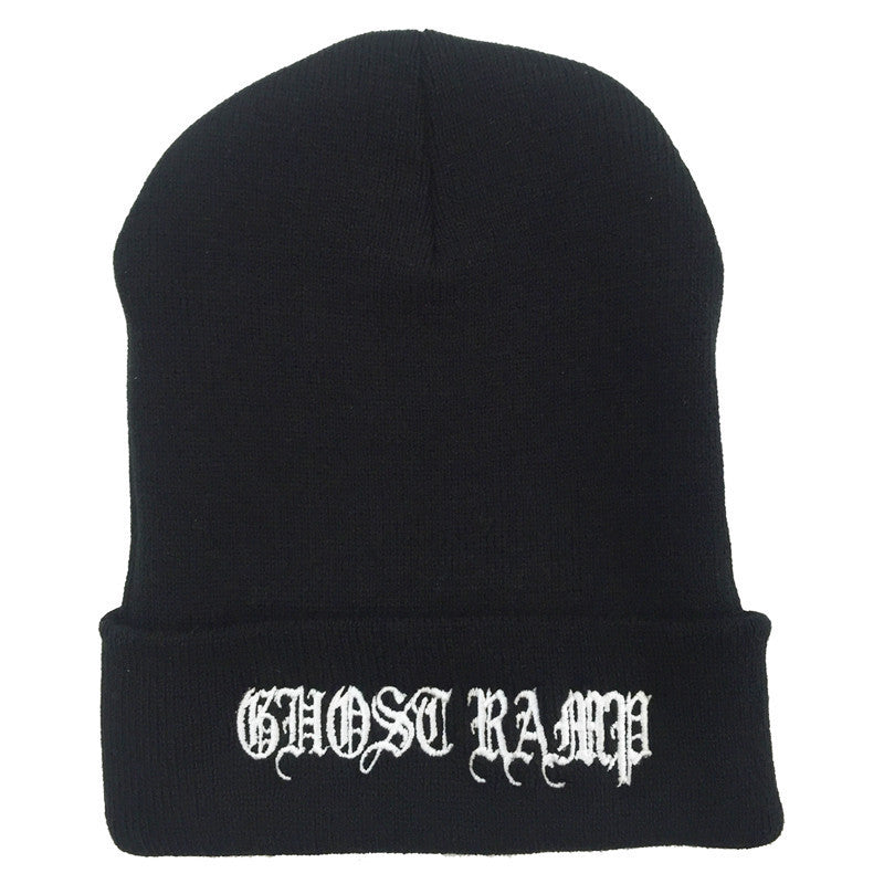 Ghost Ramp Old English Beanie