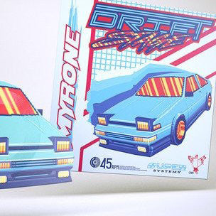 "Limited Edition Drift Stage ""Applied Dynamics"" Car Shaped 7 Inch"