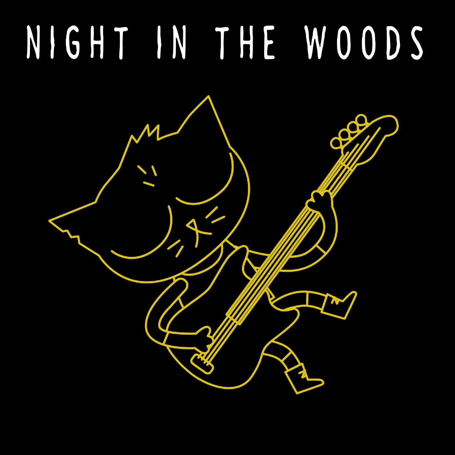 NIGHT IN THE WOODS ENAMEL PIN