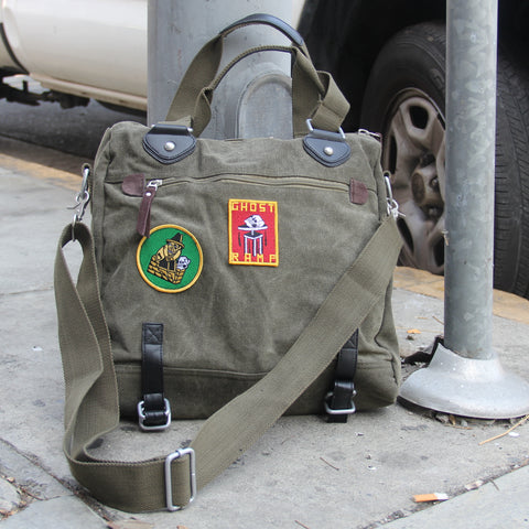 GR Military Shoulder Bag - GREEN