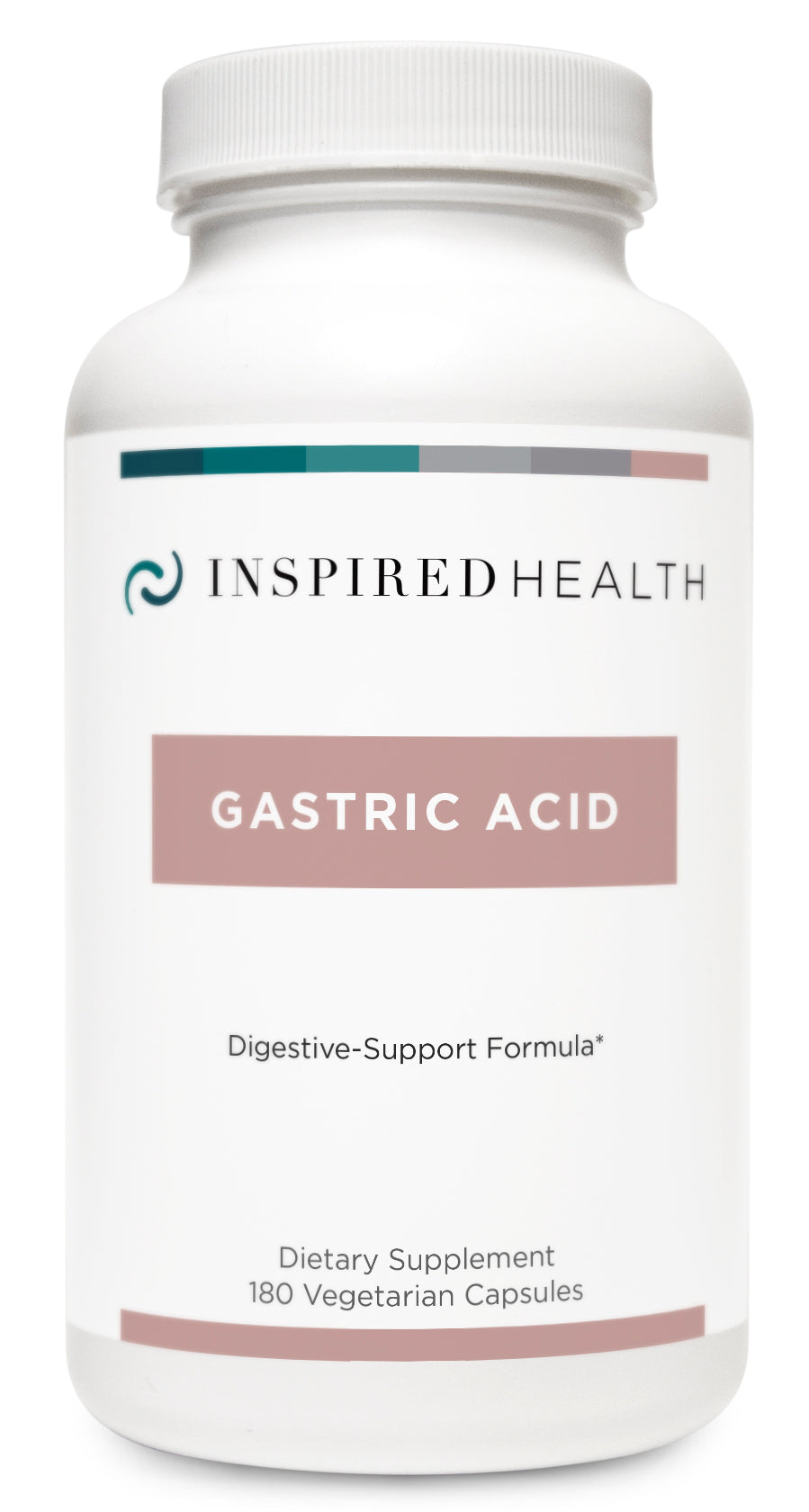 Gastric Acid 180caps - Inspired Health Apothecary - BetaineHCL, Stomach Acid Support, SIBO