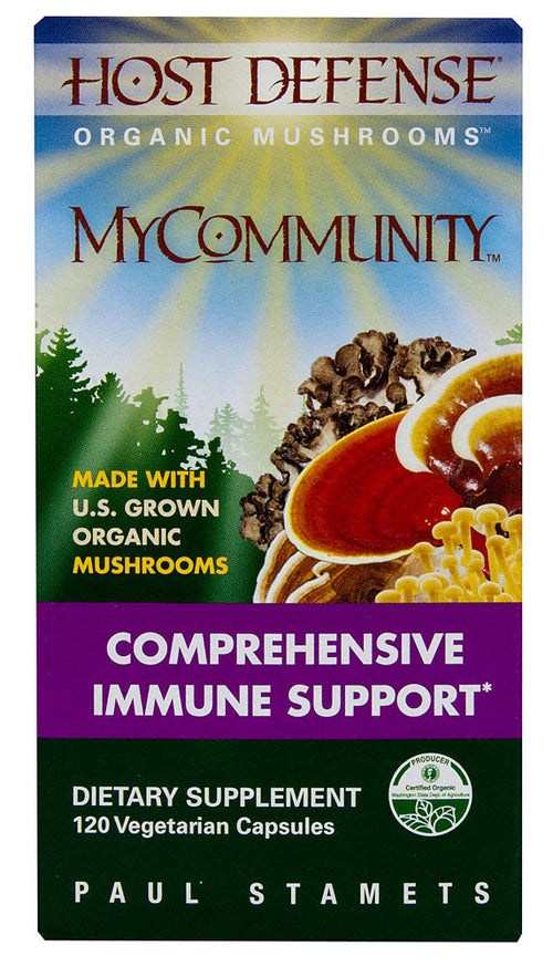 Mycommunity Comprehensive Immune Support (120c) - Inspired Health Apothecary- Immune Support