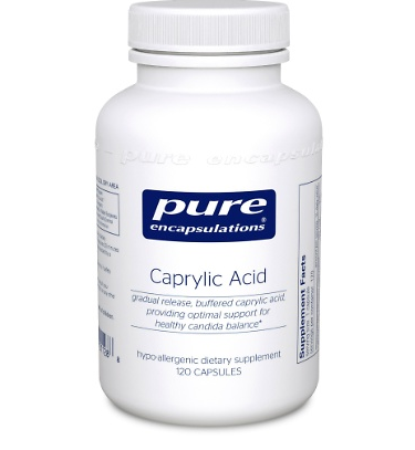 Caprylic Acid - Inspired Health Apothecary - Yeast, Candida, Yeast Infection
