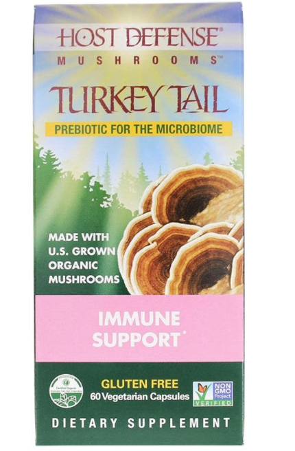 Turkey Tail Immune Support 60c - Inspired Health Apothecary