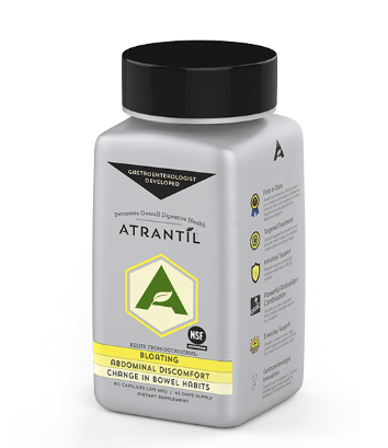 ATRANTíL (90 Count) - Inspired Health Apothecary - Gas, Bloating, SIBO, Constipation, Diarrhea, Abdominal Pain