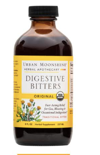 Urban Moonshine Digestive Bitters - Inspired Health Apothecary - SIBO, Digestive Support, Prokinetic