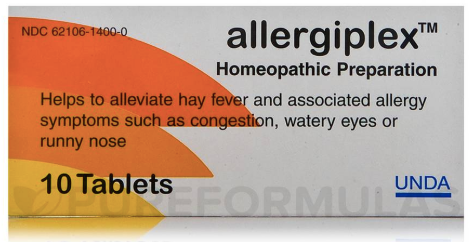 AllergiPlex-Inspired Health Apothecary- Natural Allergy Support