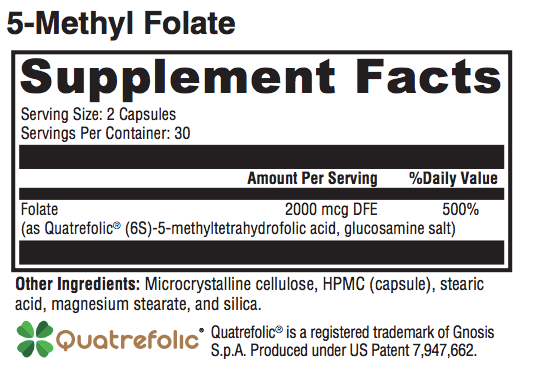 5-Methyl Folate