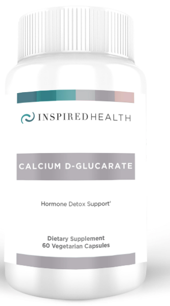 Calcium D-Glucarate - Inspired Health Apothecary - Estrogen Metabolism, Estrogen Dominance, Elevated Estrogen