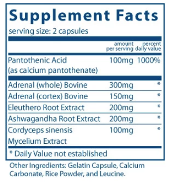 Adrenal Support (120 Caps)