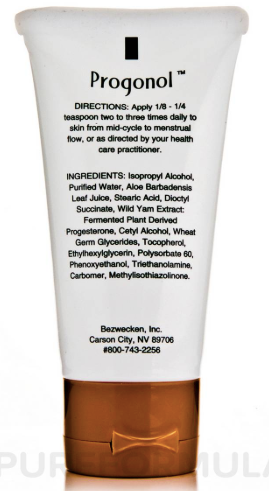 Progonol - Inspired Health Apothecary - Progesterone Cream, Infertility, Low Progesterone
